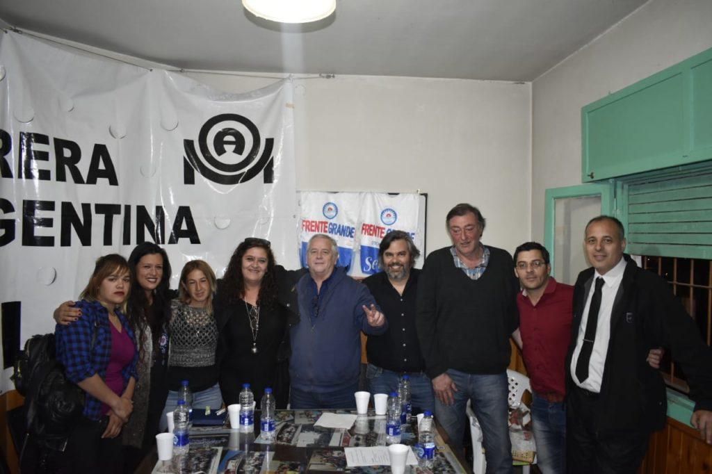 Lanzamiento del Partido Frente Grande en Cañuelas.