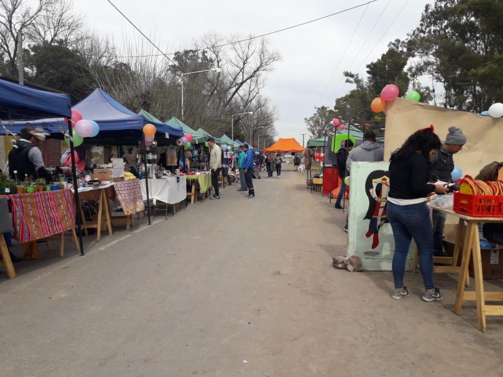 El día del niño en la Feria de la Economía Popular