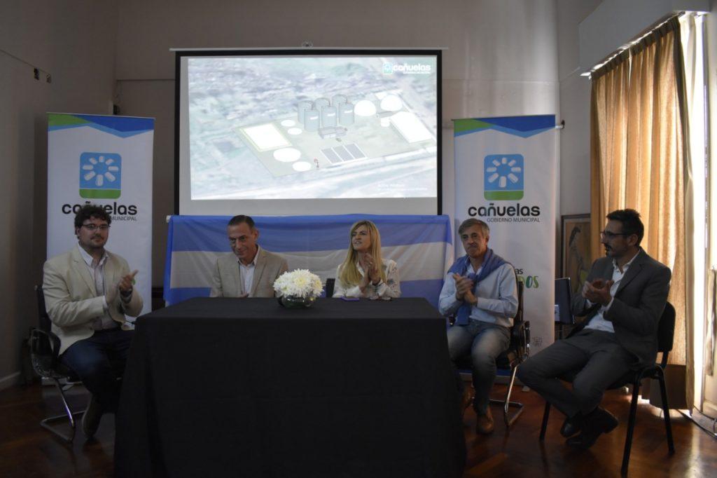 Se realizó la firma del convenio de una planta de biogás en Cañuelas
