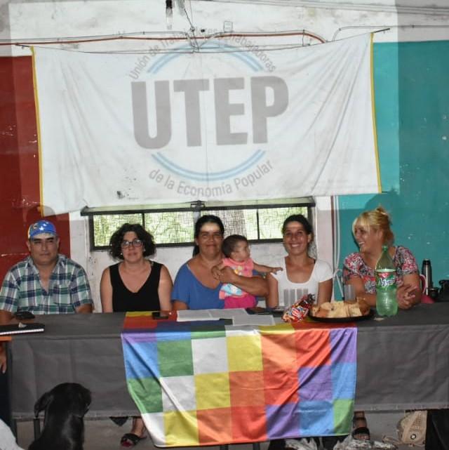 La UTEP lanzo la Junta Promotora en la Sede de la Coop. Creer en Máximo Paz Cañuelas