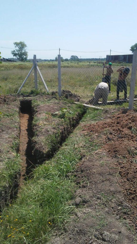 Construcción del Sistema de Humedales en la ECCO Infantil